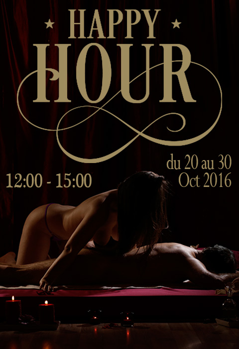 """Happy hour"" from 20 to 30 October 2016"